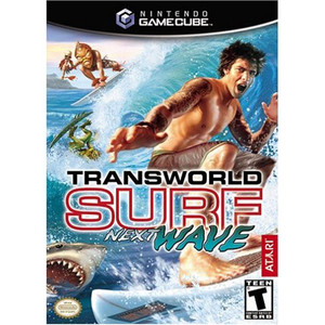Transworld Surf Next Wave Video Game for Nintendo GameCube