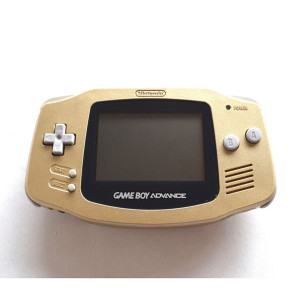 GameBoy Advance System Gold - Import