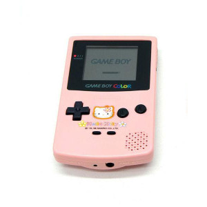 GameBoy Color System Hello Kitty Pink