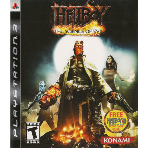 Hellboy Science of Evil Video Game for Sony PlayStation 3
