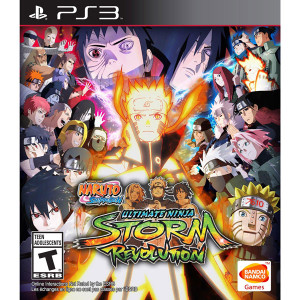 Naruto Shippuden Ultimate Ninja Storm Revolution Video Game for Sony PlayStation 3