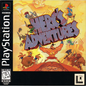Herc's Adventures Video Game for Sony PlayStation