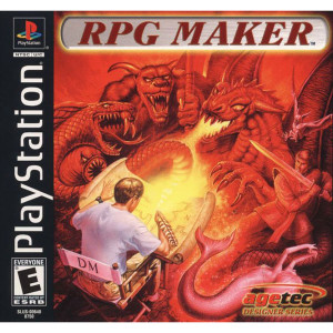 RPG Maker Video Game for Sony PlayStation