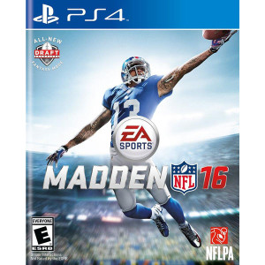 Madden NFL 16 Video Game for Sony PlayStation 4