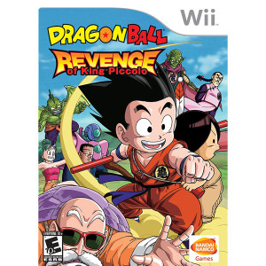 Dragonball Revenge of King Piccolo Video Game for Nintendo Wii