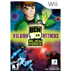 Ben 10 Alien Force Vilgax Attacks Video Game for Nintendo Wii