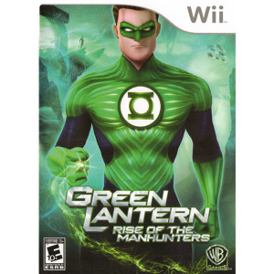 Green Lantern Rise of the Manhunter Video Game for Nintendo Wii