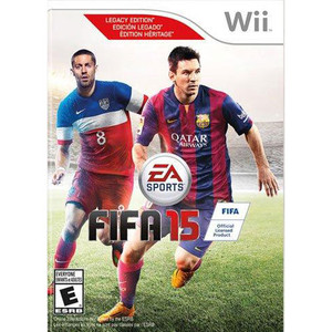 FIFA 15 Video Game for Nintendo Wii