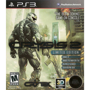 Crysis 2 Limited Edition Video Game for Sony PlayStation 3