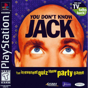 You Don't Know Jack Video Game for Sony PlayStation