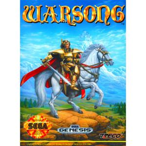 Warsong Video Game for Sega Genesis