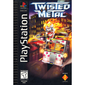 Twisted Metal Long Box Game for Sony PlayStation