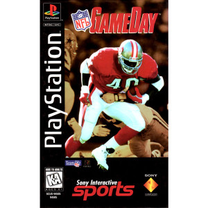 NFL GameDay Long Box Video game for Sony PlayStation
