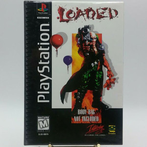 Loaded Long Box Video Game for Sony PlayStation