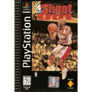 NBA Shoot Out Long Box Video Game for Sony PlayStation