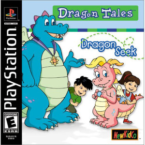 Dragon Tales Dragon Seek Video Game for Sony PlayStation