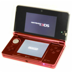 Nintendo 3DS Metallic Red with Charger
