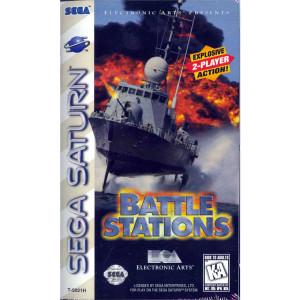 Battle Stations Video Game for Sega Saturn