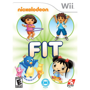 Nickelodeon Fit Video Game for Nintendo Wii