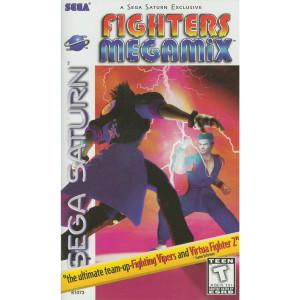 Fighters MegaMix Video Game for Sega Saturn