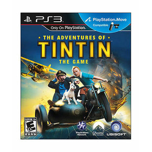 Adventures of Tintin Video Game for Sony PlayStation 3