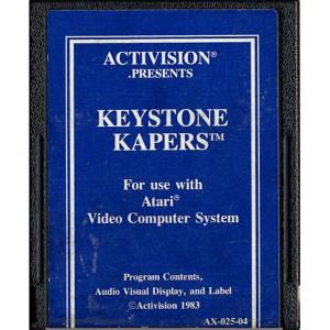 Keystone Kapers (Blue Label) Video Game for Atari 2600