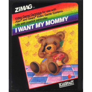 I Want My Mommy Video Game for Atari 2600