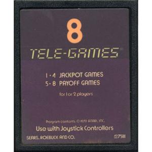 Slots Video Game for Atari 2600