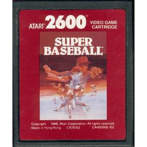 Super Baseball Video Game for Atari 2600