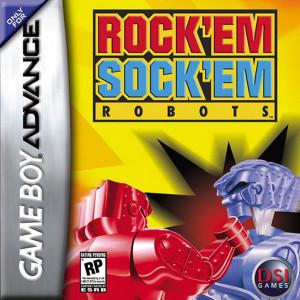 Complete Rock 'Em Sock 'Em Robots Video Game for GBA