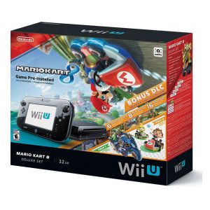Complete Mario Kart 8  Deluxe Set in Box - Wii U