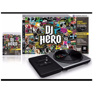 Complete DJ Hero Wireless Turntable Controller - PS3 Accessory