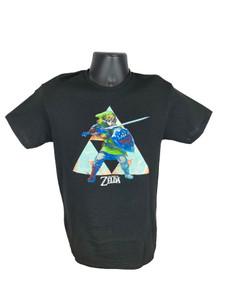 Legend of Zelda Black Triforce - Officially Licensed T-Shirt