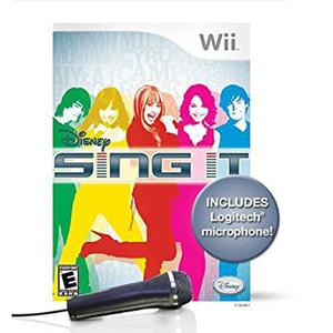 Complete Disney Sing It Bundle Video Game for Nintendo Wii