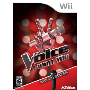 The Voice I Want You Video Game for Nintendo Wii