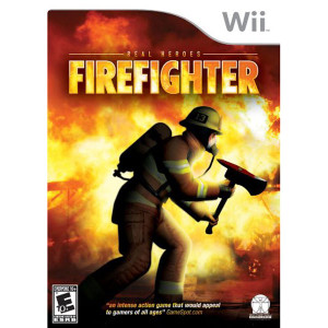 Real Heroes Firefighter Video Game for Nintendo Wii