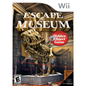 Escape the Museum Video Game for Nintendo Wii