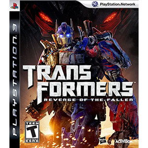 Transformers Revenge of the Fallen Video Game for Sony PlayStation 3