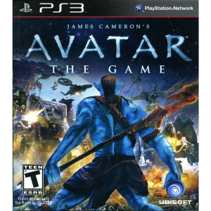 Avatar The Game Video Game for Sony PlayStation 3