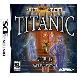 Hidden Mysteries Titanic Video Game for Nintendo DS