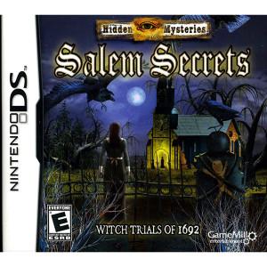 Hidden Mysteries Salem Secrets Video Game for Nintendo DS