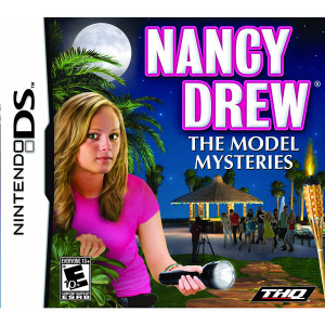 Nancy Drew The Model Mysteries Video Game for Nintendo DS
