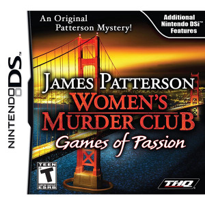 James Patterson Women's Murder Club Games of Passion Video Game for Nintendo DS