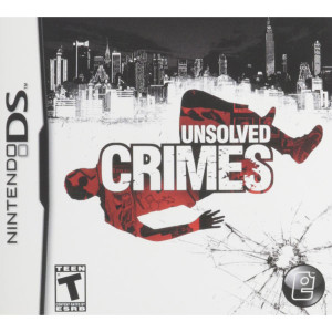 Unsolved Crimes Video Game for Nintendo DS