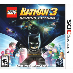 LEGO Batman 3 Beyond Gotham Video Game for Nintendo 3DS