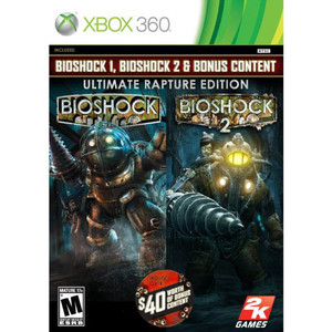 Bioshock Ultimate Rapture Edition Video Game for Microsoft Xbox 360