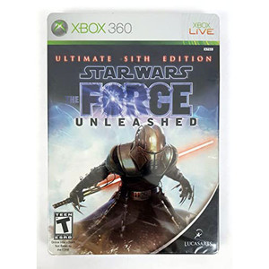 Star Wars The Force Unleashed Ultimate Sith Edition (Steelbook) Video Game for Microsoft Xbox 360