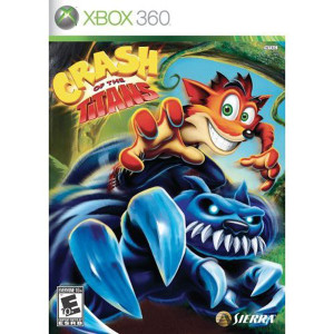 Crash of the Titans Video Game for Microsoft Xbox 360