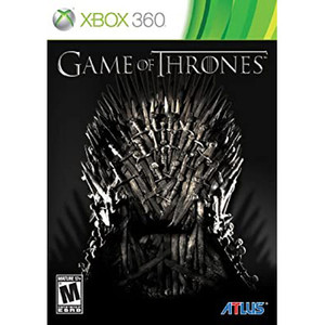 Game of Thrones Video Game for Microsoft Xbox 360