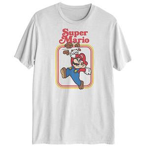 Super Mario White Officially Licensed Nintendo T-Shirt